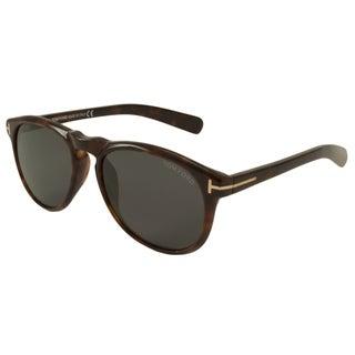 Tom Ford Men's TF9291 Flynn Rectangular Sunglasses