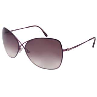 Tom Ford Women's TF0250 Colette Rimless Sunglasses