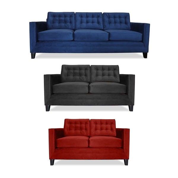 Montecarlo Tufted Velvet Sofa