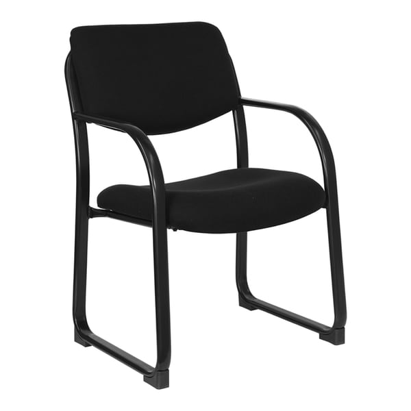Offex Executive Side Chair with Sled Base