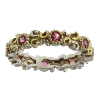 Michael Valitutti Pink Tourmaline Stackable Ring