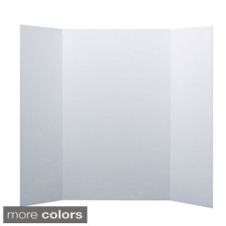 White Tri-fold Project Board (Pack of 24)
