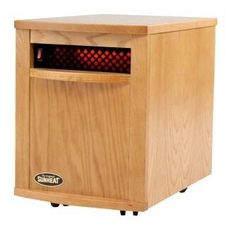 Sunheat Golden Oak 1500-watt Portable Infrared Heater