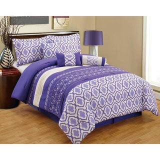 Fashion Street Franscene 7-piece Comforter set