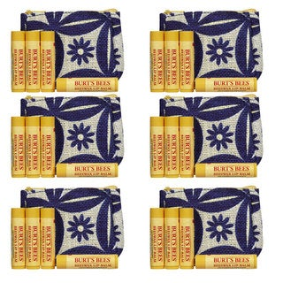 Burts Beeswax Bounty Classic Lip Balm 4-piece Gift Set (Pack of 6)