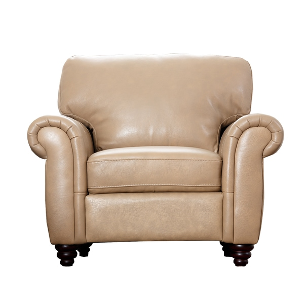 ABBYSON LIVING Parker Premium Leather Armchair