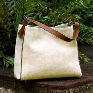 Handcrafted Cotton 'Nature' Tote Handbag (Guatemala)