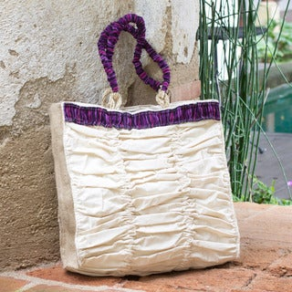 Cotton 'Nimaya' Tote Bag (Guatemala)