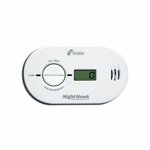 Kidde Nighthawk KN-COPP-B-LS Digital Carbon Monoxide Detector and Alarm