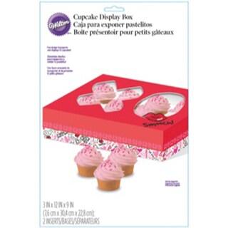 Cupcake Bakery Box 1/Pkg-Spread Love, Sprinkle Kindness 12 Cavity