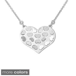 La Preciosa Sterling Silver Heart Necklace