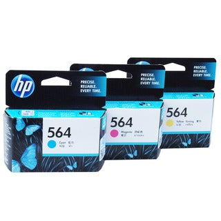 HP 564 Original Ink Cartridges (Cyan, Magenta, Yellow)