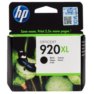 HP 920XL Black Ink Cartridge (1 Black)