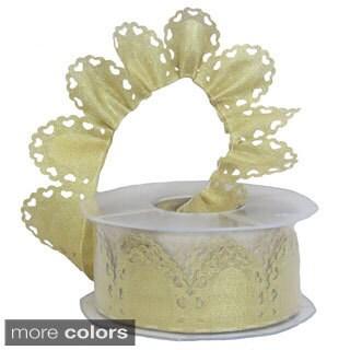 Metallic Cuore Confetti Ribbon