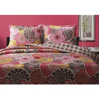 Greenland Home Fashions Bianca Cotton 3-piece Quilt Set