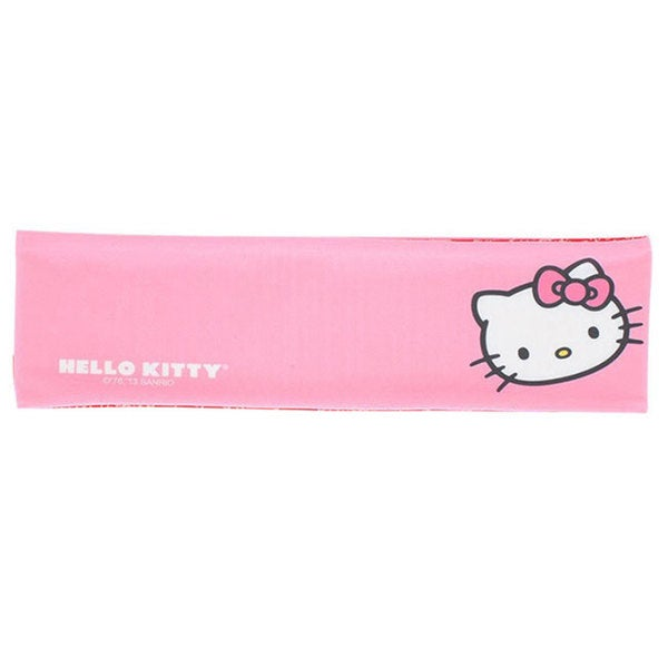 Hello Kitty Sports Headbands Reversible Headband (Pink and Red)