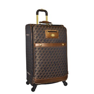 Adrienne Vittadini 29-inch Large Fashion Spinner Upright Suitcase