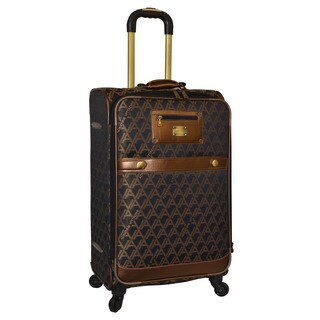Adrienne Vittadini 25-inch Medium Fashion Spinner Upright Suitcase