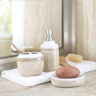 Madison Park Balboa 3-Piece Bath Accessory Set