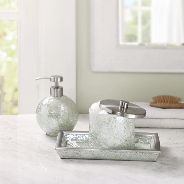 Madison Park Mosaic Bath Accessory 3 Piece Set 16920112 Overstock Shoppin