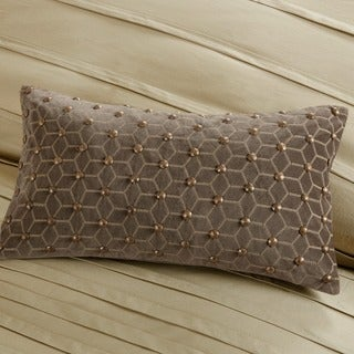 Metropolitan Home Wright Cotton Oblong Pillow