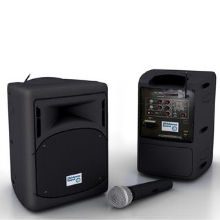 OSC PRA8000 Black Metal Portable Audio System