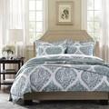 Harbor House Ogee Paisley Cotton 3-piece Duvet Cover Set