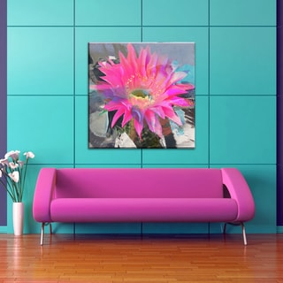 Ready2HangArt 'Painted Petals L' Floral Canvas Wall Art