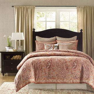 Harbor House Belcourt Brick Cotton 4-piece Comforter Set