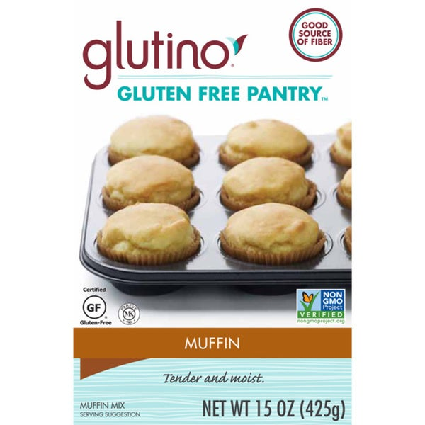 Gluten Free Pantry 15-ounce Muffin Mix (Pack of 4)