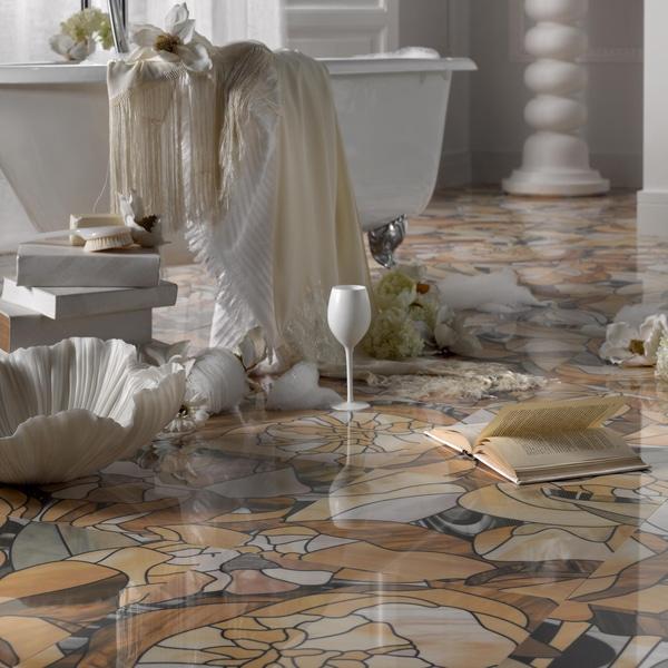 SomerTile 17.375x17.375-inch Candelabra Porcelain Floor and Wall Tile (Case of 5)