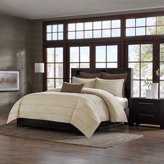 Metropolitan Home Wright Cotton 3-piece Duvet Cover Mini Set