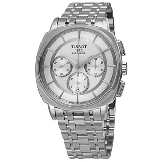 Tissot Men's T059.527.11.031.00 'T Lord' Silver Dial Stainless Steel Chronograph Automatic Watch