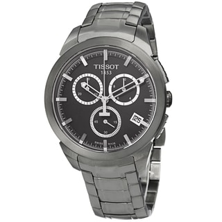 Tissot Men's T069.417.44.061.00 'T Sport' Grey Dial Titanium Bracelet Chronograph Watch