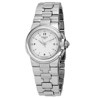 Tissot Women's T080.210.11.017.00 'T Sport' White Dial Stainless Steel Quartz Watch
