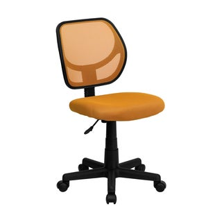 Offex Mid-back Orange Mesh Task Chair and Computer Chair