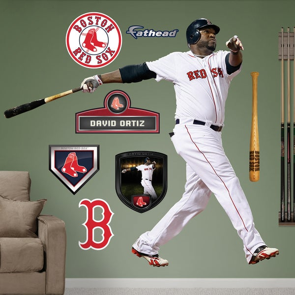 Fathead David Ortiz Wall Decals