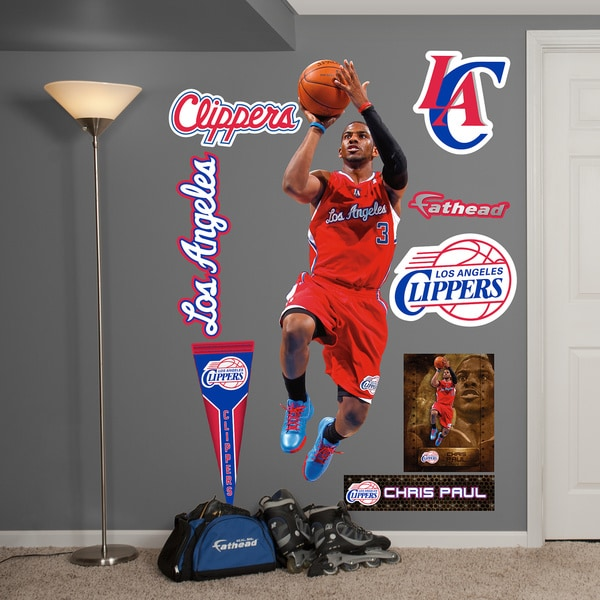 Fathead Chris Paul Away Wall Decals