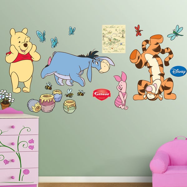 Fathead Winnie the Pooh Wall Decals