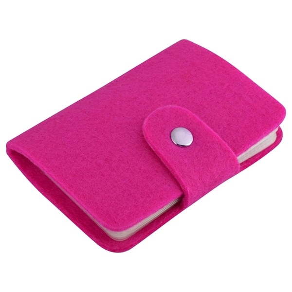 Zodaca Felted Wool Pocket Business Credit Card Holder Case Wallet