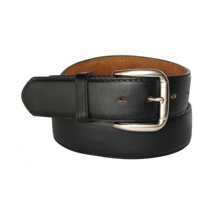 King Stallion Collection Men's Travelers Leather Money Belt To Secure Currency