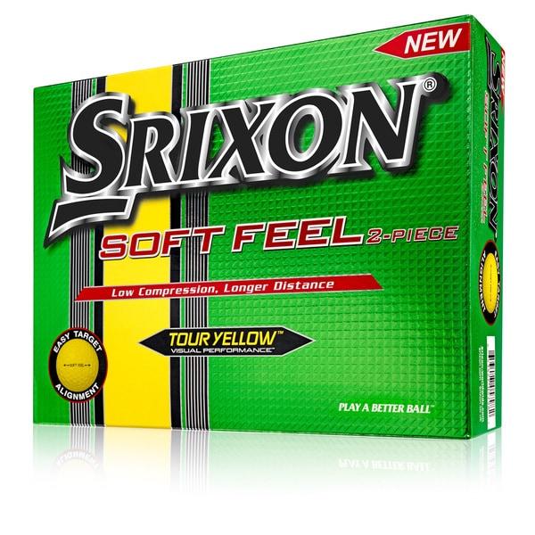 Srixon Soft Feel Golf Balls (Pack of 12)