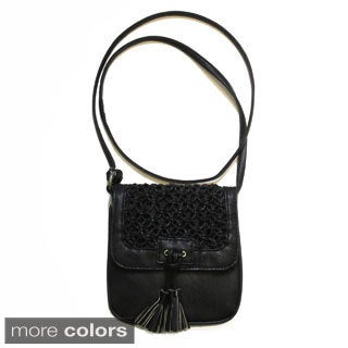 Olivia Miller North South Rope Weave Crossbody