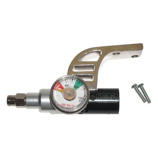 Spyder Paintball Gun CO2 Air Gas Regulator with Gauge Drop Forward Bottomline Set (Refurbished)