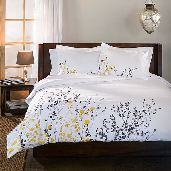 Reed 3-piece King/ Cal King Duvet Cover Set (As Is Item)