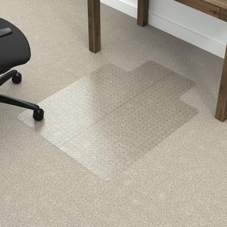 Dimex UltraGlide Fold-n-Go 36 x 48 Vinyl Chair Mat for Thick Pile Carpets