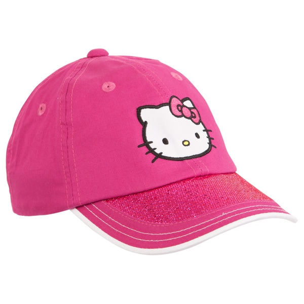 Hello Kitty Girl's Magenta Junior Sports Hat
