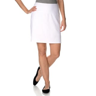 Teez -Her Women's The Skinny Skort with Invisible Smoothing Panel