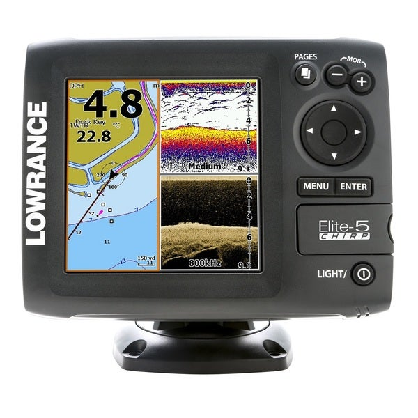 Lowrance Elite 5 CHIRP Combo Fish Finder