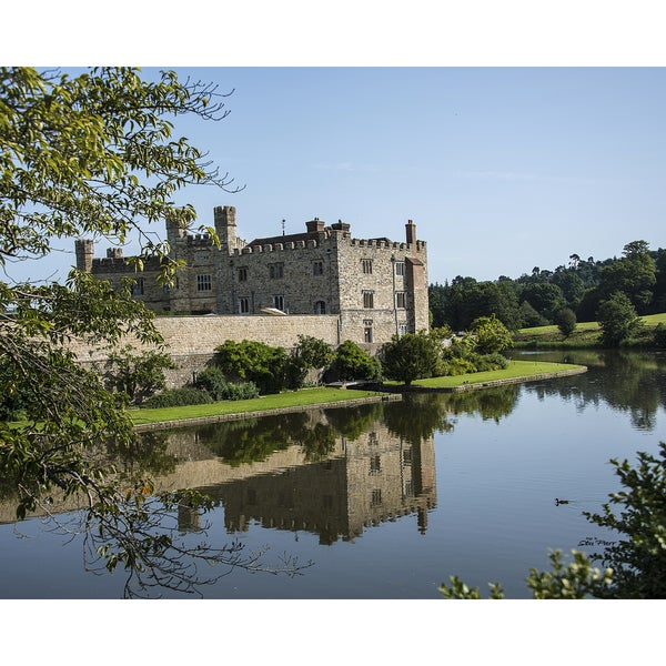 Stewart Parr 'Leeds Castle from across the Moat near Kent England' Unframed Photo Print
